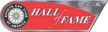 Logo SCCA HoF